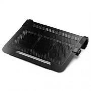 "Chladiaci ALU podstavec Coolermaster NotePal U3 PLUS pre NTB 15-19"" black, 3x8cm fan"