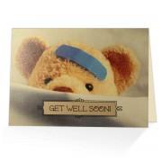 Get well soon! - Isaiah 33:24 - (Scriptural Greeting Card)