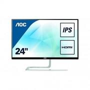 AOC I2781FH Ultra Slim Design 27-Inch 1920 x 1080 LED Monitor - Silver/Black