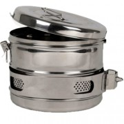 cestello inox drum diam. 190x160mm