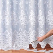Blancheporte Panneau modulable motif fleuri blanc Panneau : largeur 300 x hauteur 180cm