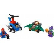 Set Constructie Lego Super Heroes Marvel Mighty Micros Spider-Man Vs. Green Gobl