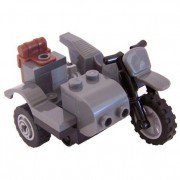 Motorcycle With Sidecar Lego Indiana Jones Vehicle