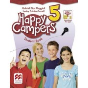 Happy Campers Level 5 Student's Book/Language Lodge by Gabriel Diaz-Maggioli