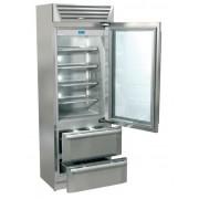 Combina frigorifica Fhiaba StandPlus60 latime 737 mm adancime 594 mm usa din sticla