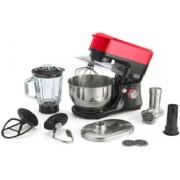 Black & Decker SM700 600 W Food Processor(Black, Red)