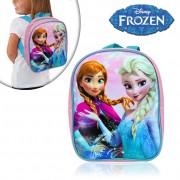 FR16507 Zainetto asilo e tempo libero 20 x 24 x 10 cm Frozen principesse del ghiaccio