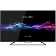 "Televizor LED Kruger&Matz 106 cm (42"") KM0242, Full HD + Lantisor placat cu aur si argint + Cartela SIM Orange PrePay, 6 euro credit, 4 GB internet 4G, 2,000 minute nationale si internationale fix sau SMS nationale din care 300 minute/SMS internationale m"