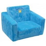 Blauwe kinderkamer stoel Prince