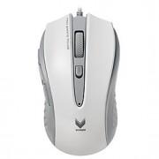 Rapoo jogo do rato v300c 4 ajustável 4000 dpi programável 8 botões de respiração laptop luz computador pc