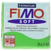Fimo Soft Polymer Clay 2 Ounces-8020-53 Tropical Green