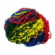 Rede de Proteção Colorida para Piscina de Bolinhas de 2m x 2m