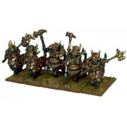 Kings of War - Abyssal Dwarfs Halfbreed Cavalry (10)