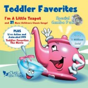 Toddler Favorites: The Movie (Dvd/Cd Combo/ Dist. By Rhino)