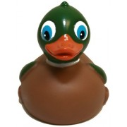 Rubber Ducks Family Mallard Rubber Duck, Waddlers Brand Toy Bathtub Rubber Duck That Float Upright,