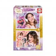 Educa Disney Violetta Arany kiadás puzzle, 2x100 darabos
