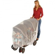 J is for Jeep Mosquito Net for Baby Double Strollers White Universal Size Tandem Stroller Bug Cover Weather Protecti