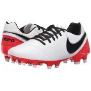 Nike Tiempo Mystic V FG WhiteBright CrimsonBlack