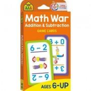 Game Cards - Math War by School Zone