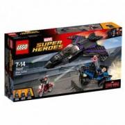 Конструктор ЛЕГО супер хироус - преследване с черната пантера, LEGO Marvel Super Heroes, 76047