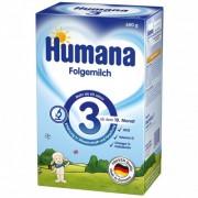 Humana Lapte praf 3 fara aroma 600 g pentru 10m+