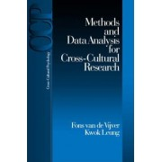 Methods and Data Analysis for Cross-Cultural Research by Fons J. R. Van De Vijver