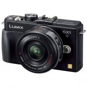 Panasonic Lumix DMC-GX1X + ob. 14-42 POWER O.I.S. czarny Dostawa GRATIS!