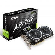 MSI GeForce GTX 1070 ARMOR OC 8192MB GDDR5 PCI-Express Graphics Card