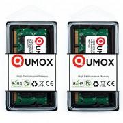 QUMOX 4GB(2x 2GB) DDR2 800MHz PC2-6300 PC2-6400 DDR2 800 (200 PIN) SODIMM Notebook Memoria