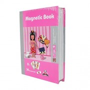 AOLI 8726-1 Educational Magnetic Puzzle Toy Girl's Outfits Magnetibook Intellectual Jigsaw Puzzles Fashion Women Suit Dressup Baby Series