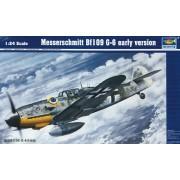 Trumpeter 02407 - Modellino di Messerschmitt Bf 109 G-6, prima versione