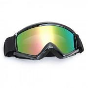 Proteccion para los ojos QooK casco de la motocicleta snowboard del esqui de cristal de las gafas