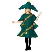 Childs Christmas Tree Costume - MEDIUM