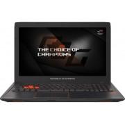 """Laptop Gaming ASUS ROG STRIX GL553VW-FY025D (Procesor Intel® Core™ i7-6700HQ (6M Cache, up to 3.50 GHz), Skylake, 15.6""""FHD, 16GB, 1TB @7200rpm + 128GB SSD, nVidia GeForce 960M@4GB, Wireless AC, Tastatura iluminata, Negru)"""