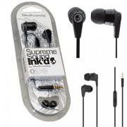 Skullcandy IN EAR Supreme Sound Bass Headphones Ink'd 2.0 Earphone Headset W/MIC ( Full Black Colour )