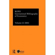 IBSS: Economics 2002 by The British Library of Political and Economic Science