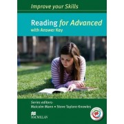 Improve Your Skills for Advanced (CAE) Reading Student's Book with Key & Macmillan Practice Online by Malcolm Mann
