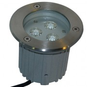 Spot LED 9W RGB encastrable terrasse