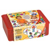 Feuchtmann Spielwaren 6215607 - Gioco di costruzioni Stecki Geo, One for Two, confezione maxi, 400 g