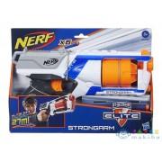 Nerf N-Strike Elite: Strongarm Szivacslövő Pisztoly - Fehér (Hasbro, 36033)