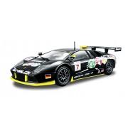 Bburago - Coche de juguete Race Lamborghini Murcielago FIA GT, escala 1/24, color negro (18-28001)