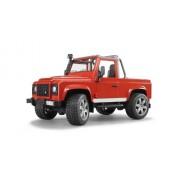 Bruder - Pick-up Land Rover Defender, colore rosso