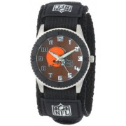 "Game Time Unisex NFL-ROB-CLE ""Rookie Black"" Watch - Cleveland Browns"