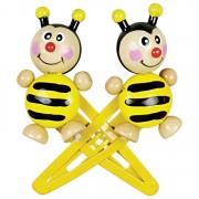 Állatfigurás dupla hajcsat, méhecske