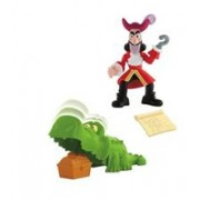 Jucarie Fisher Price Disney Jake And The Never Land Pirates Treasure Snatcher Hook