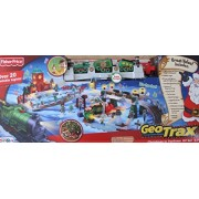 "Geotrax Geo Trax Remote Control Train Christmas In Toytown Toy Town Train Set W Lights, Sounds, Figures, Station & More Toys""R""Us Exclusive (2010 Fisher Price)"