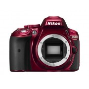 Nikon D5300 Digital SLR Camera - Red (24.2 MP, AF-P 18-55VR Lens Kit) 3-Inch LCD Screen