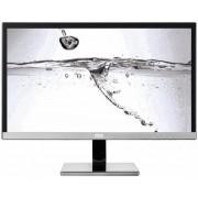 Monitor AOC U2477PWQ 23.6inch, PLS, UHD, D-Sub/DVI/HDMI/DP