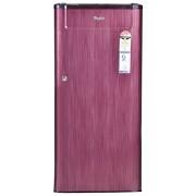 Whirlpool 190 L 4 Star Direct-Cool Single Door Refrigerator (205 Genius Cls Plus 4S, Wine Titanium)