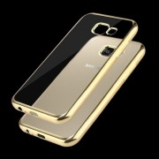 Transparent guldskal Samsung Galaxy A3 2017